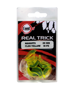 Feed Up MAGGOTS FLUO YELLOW 20MM 10PZ