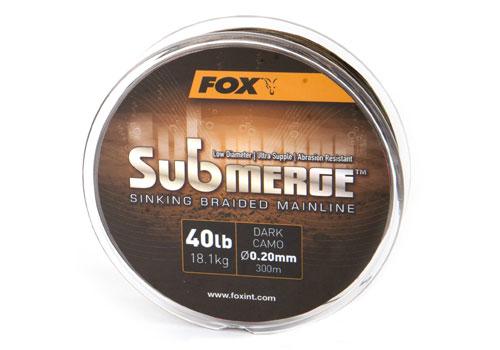 Fox Submerge 40lb 0.20mm - 600m