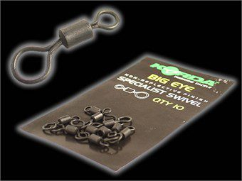 Korda Big Eye Swivel 10 per pack