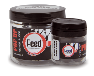 Feed Up Black Mamba Scopex Squid Liver Pop-Ups 14mm / 20mm / 24mm