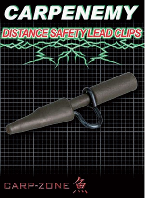 Carp-Zone Distance Safety Lead Clips