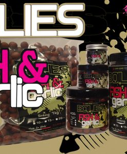 Carp-Zone Boilies Hookbait FISH & GARLIC 15mm-20mm/400gr