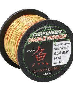 Carp-Zone Nylon Double Trouble Orange/Yellow 1000 mt