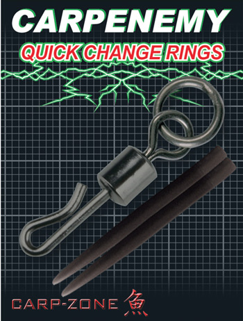 Carp-Zone Quick Change Swivels With Ring