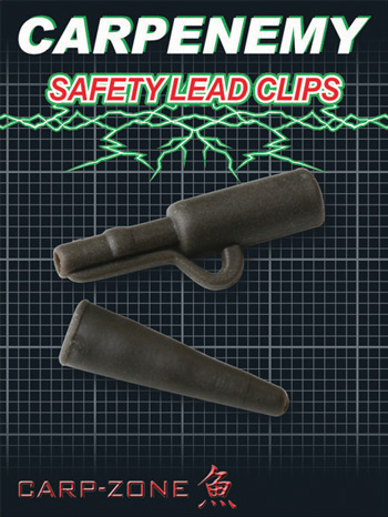 Carp-Zone Safety Lead Clips