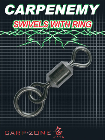 Carp-Zone Swivels whit ring