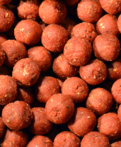 Feed Up Whip Cherry Boom Boilies 14mm / 20mm / 28mm - 1 Kg