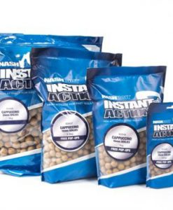 Nash INSTANT ACTION Cappuccino Boilies 15mm-20mm 1Kg