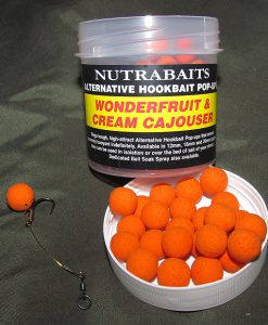 Nutrabaits Alternative Hookbait Pop-Ups WONDERFRUIT & CREAM CAJOUSER