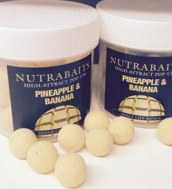 Nutrabaits High Attract Pop-Ups PINEAPPLE & BANANA