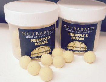 Nutrabaits High Attract Pop-Ups PINEAPPLE & BANANA