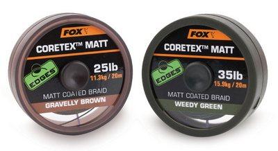 Fox Coretex Matt Weedy Green / Gravelly Brown