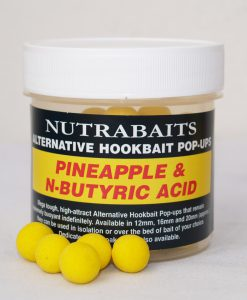 Nutrabaits Alternative Hookbait Pop-Ups PINEAPPLE & N-BUTYRIC ACID