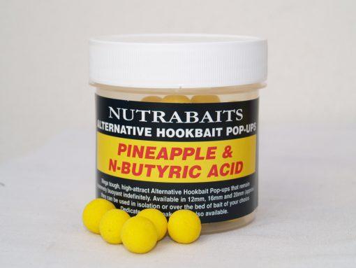 Nutrabaits Alternative Hookbait Pop-Ups PINEAPPLE & N-BUTYRIC ACID