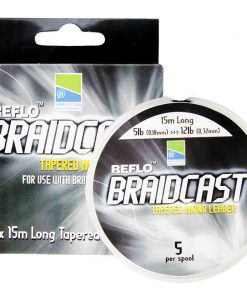 Preston Reflo Braidcast Tapered Mono Leader