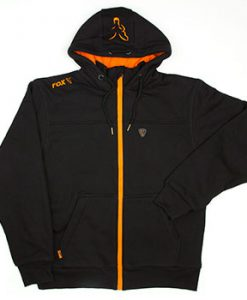 Fox Black/Orange Heavy Lined Hoody