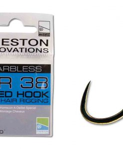 Preston PR 38 Barbless Eyed Hook