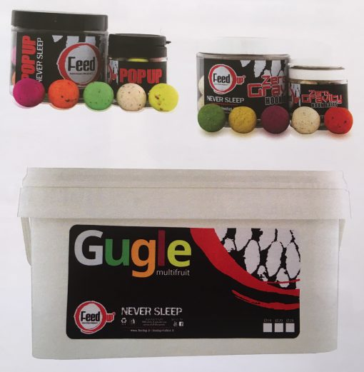 Feed Up Gugle Multifruit Boilies 14mm-20mm-28mm - 1Kg