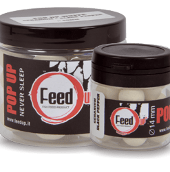 Feed Up Pop Up WHITE Geranium Black Pepper 14mm-20mm-24mm
