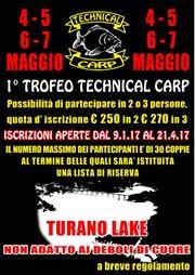 I° trofeo Technical Carp