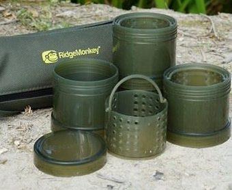 Ridgemonkey Modular Hookbait Pots - Green