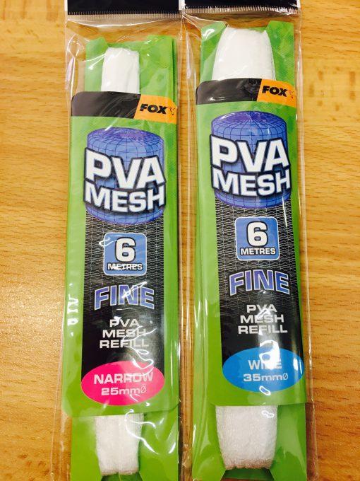 Fox PVA Mesh Refill 6 Metri FINE