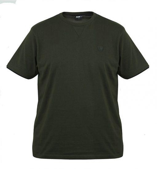 Fox Green & Black Brushed Cotton T Shirt