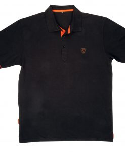Fox BLACK ORANGE POLO SHIRT