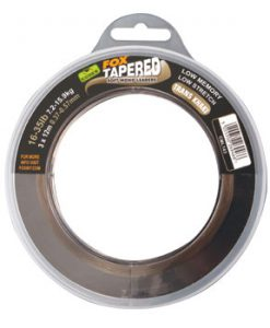 Fox SOFT TAPERED LEADER - trans khaki 12-30lb