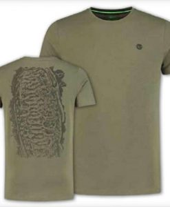 Korda Scaley T-Shirt - OLIVE