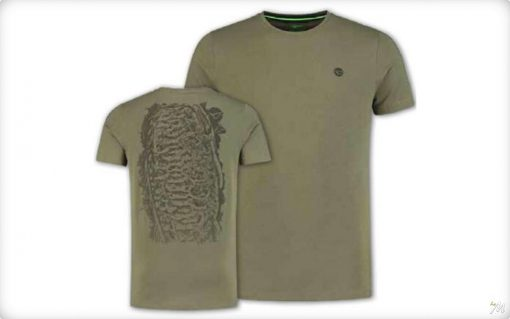 Korda Scaley T-Shirt - OLIVE