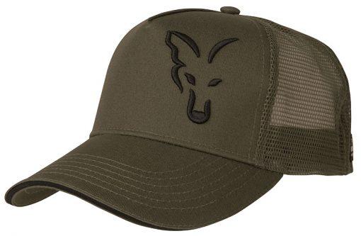 FOX GREEN & BLACK TRUCKER CAP