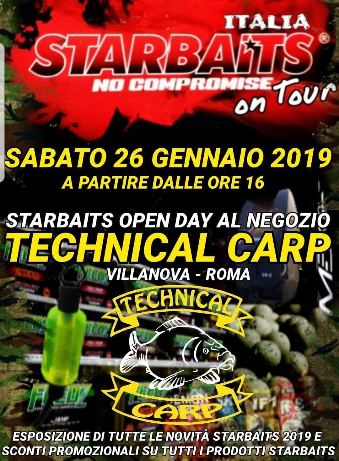 Italia STARBAITS no compromise on Tour