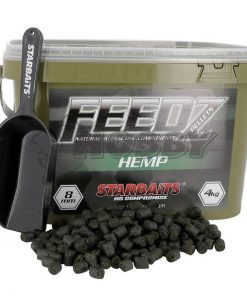 Starbaits Feedz Hemp Pellets 4mm -8Kg